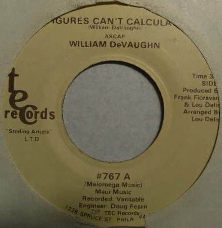 WILLIAM DE VAUGHN / HOLD ON TO LOVE