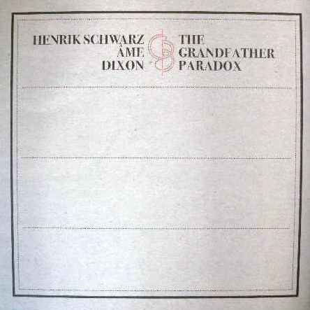 HENRIK SCHWARZ , AME , DIXION / THE GRANDFATHER PA
