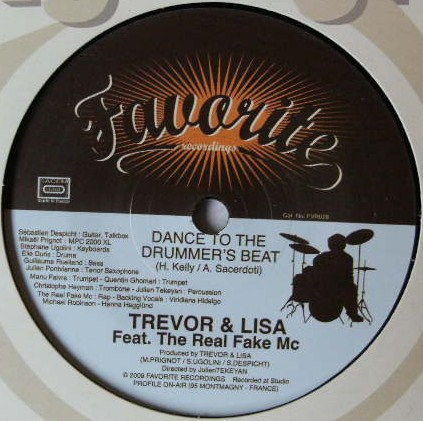 TREVOR & LISA / DANCE TO THE DRUMMER'S BEAT