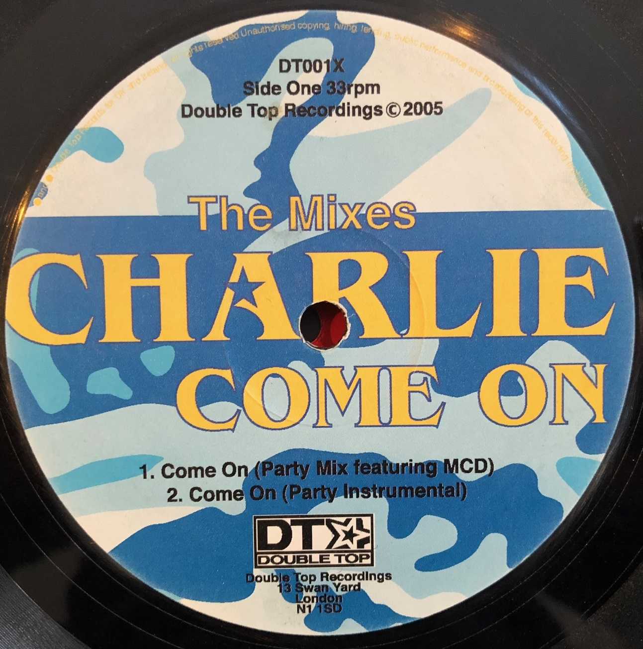CHARLIE / COME ON