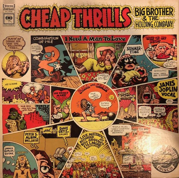 BIG BROTHER & THE HOLDING COMPANY (JANIS JOPLIN) / CHEAP THRILLS / CHEAP THRILLS