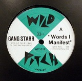 GANG  STARR / WORDS I MANIFEST