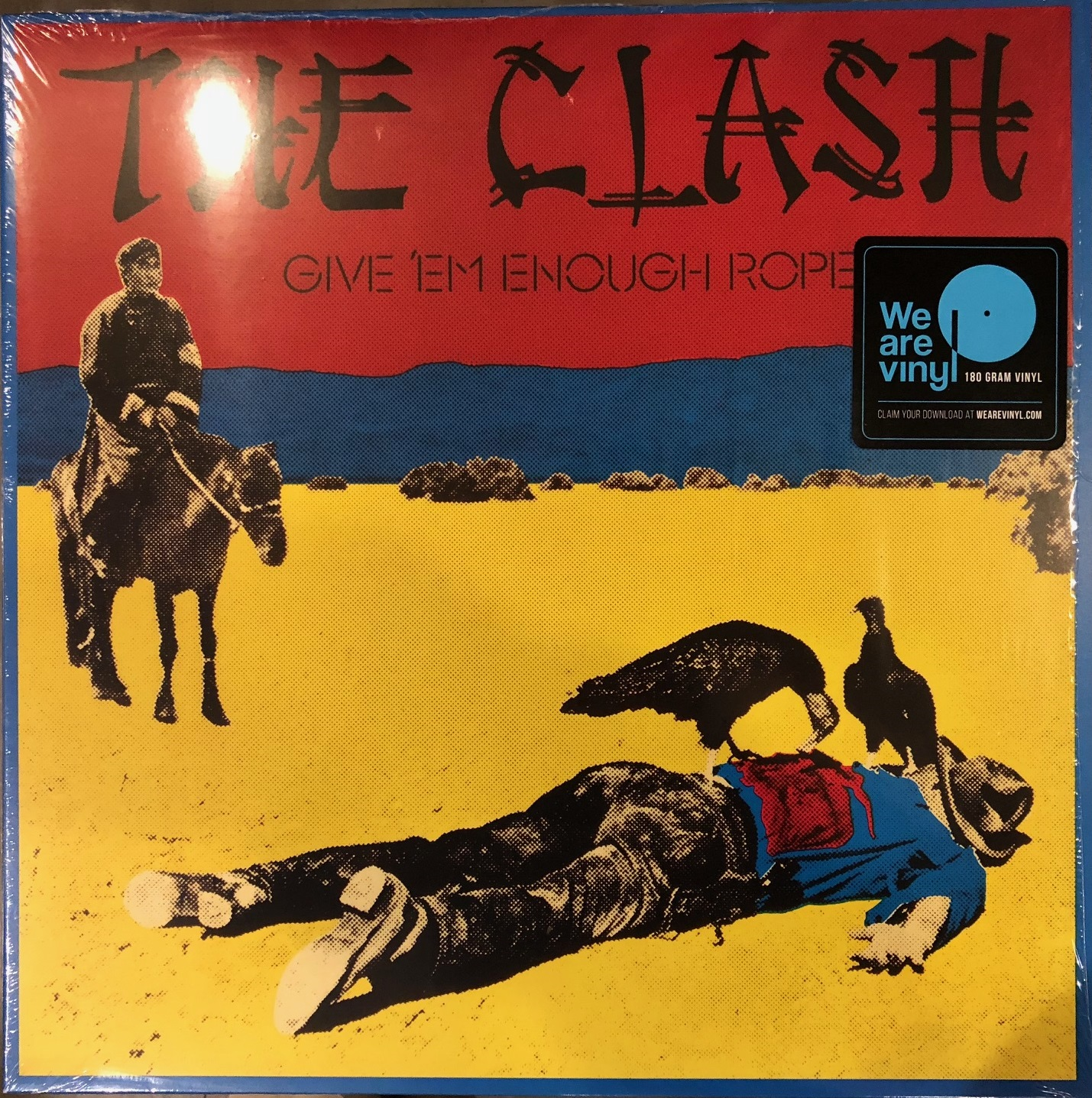 CLASH / GIVE EM ENOUGH ROPE