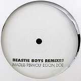 BEASTIE BOYS REMIXES / MADLIB PBWOLF EGON DOE