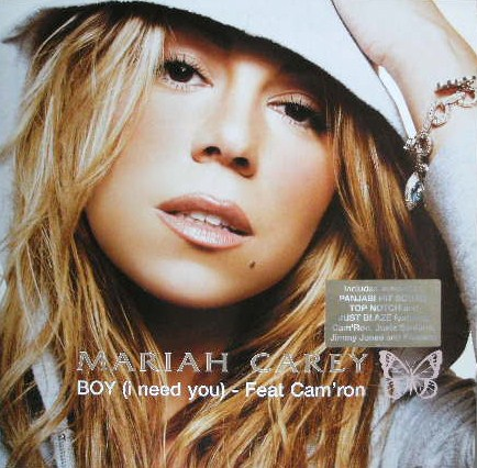 MARIAH CAREY / BOY (I NEED YOU)