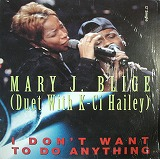 MARY J.BLIGE / I DON'T WANT TO DO ANYTHING