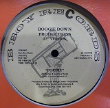 BOOGIE DOWN PRODUCTIONS / POETRY