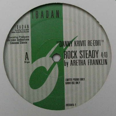 DANNY KRIVIT / ROCK STEADY BY ARETHA FRANKLIN