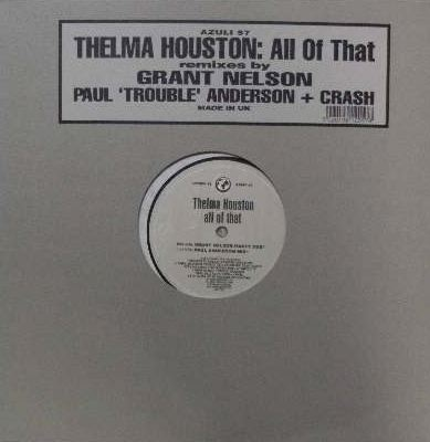 THELMA HOUSTON / ALL OF THAT