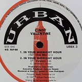 CINDY VALENTINE / IN YOUR MIDNIGHT HOUR