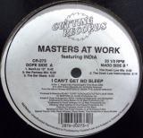 MASTERS AT WORK feat. INDIA / I CAN'T GET NO SLEEP