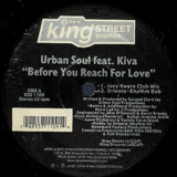 URBAN SOUL feat.KIVA / BEFORE YOU REACH FOR LOVE