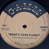 MARKUS ENOCHSON / WHAT`S YOUR FLAVA?