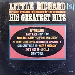 LITTLE RICHARD / HIS GREATEST HITS