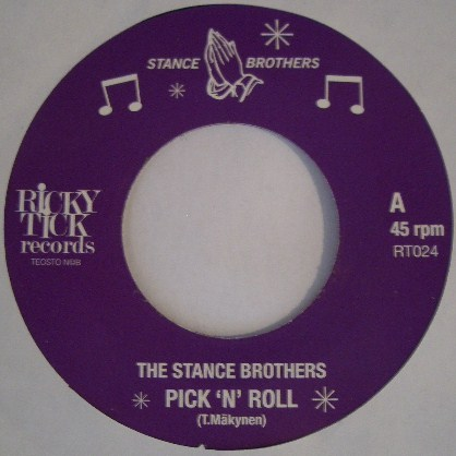 THE STANCE BROTHERS / PICK'N' ROLL
