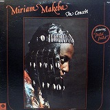 MIRIAM MAKEBA / IN CONCERT