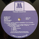 THELMA HOUSTON / SATURDAY NIGHT, SUNDAY MORNING