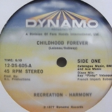 RECREATION - HARMONY / CHILDHOOD FOREVER