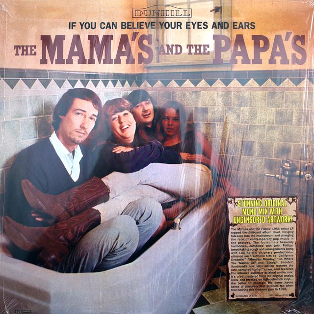 MAMAS AND THE PAPAS / IF YOU CAN BELIEVE YOUR EYES AND EARS