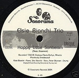 ELSIE BIANCHI TRIO / HAPPY LITTLE SUNBEAM