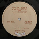 CRAZY WORLD OF ARTHUR BROWN / FIRE