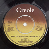 BONEY M. / BABY DO YOU WANNA BUMP