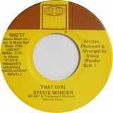 STEVIE WONDER / THAT GIRL