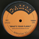 MARKUS ENOCHSON / WHAT'S YOUR FLAVA?