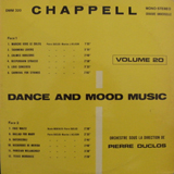 PIERRE DUCLOS / DANCE AND MOOD MUSIC VOLUME 20