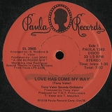 TONY VALOR SOUNDS ORCHESTRA / LOVE HAS COME MY WAY