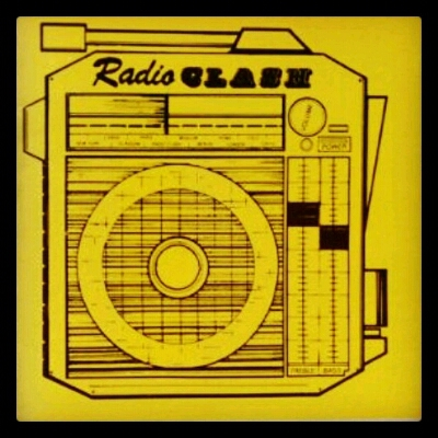 JOE STRUMMER & PAUL SIMONON O THE CLASH / RADIO CLASH @ DBC REBEL RADIO