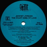 JEREMY JORDAN / THE RIGHT KIND OF LOVE