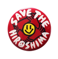 SAVE THE HIROSHIMA / 缶バッジ (小)