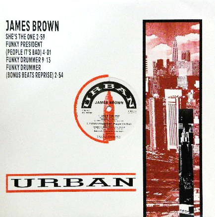 JAMES BROWN / SHE'S THE ONE