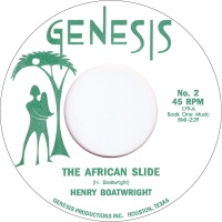 HENRY BOATWRIGHT / THE AFRICAN SLIDE