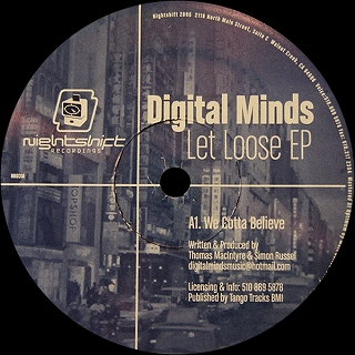 DIGITAL MINDS / LET LOOSE EP