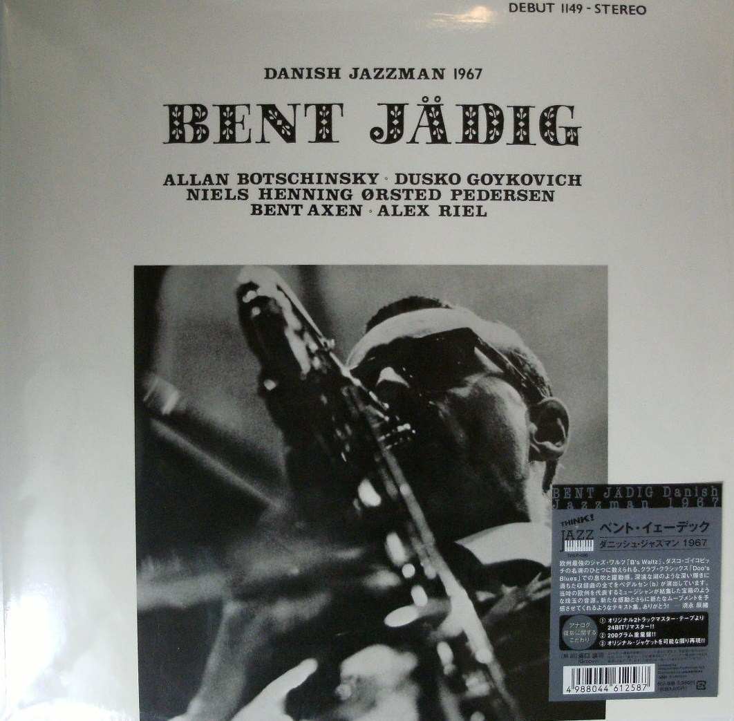BENT JADIG / DANISH JAZZMAN