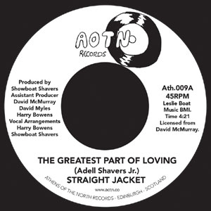 STRAIGHT JACKET / THE GREATEST PART OF LOVING YOU