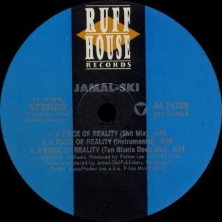 JAMAL-SKI ‎/ A PIECE OF REALITY