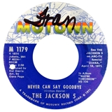 JACKSON 5 / NEVER CAN SAY GOODBYE / SHE'S GOOD