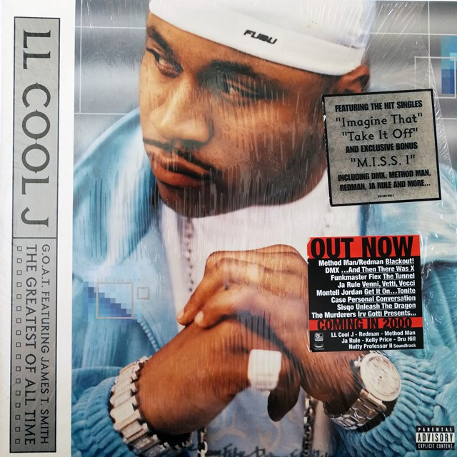LL COOL J ‎/ G.O.A.T FEAT. G JAMES T. SMITH THE GR