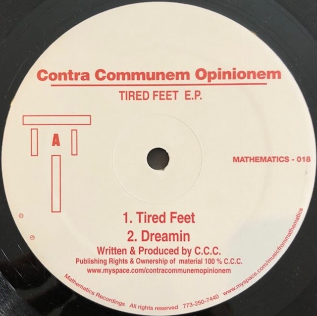 CONTRA COMMUNEM OPINIONEM / TIRED FEET E.P.