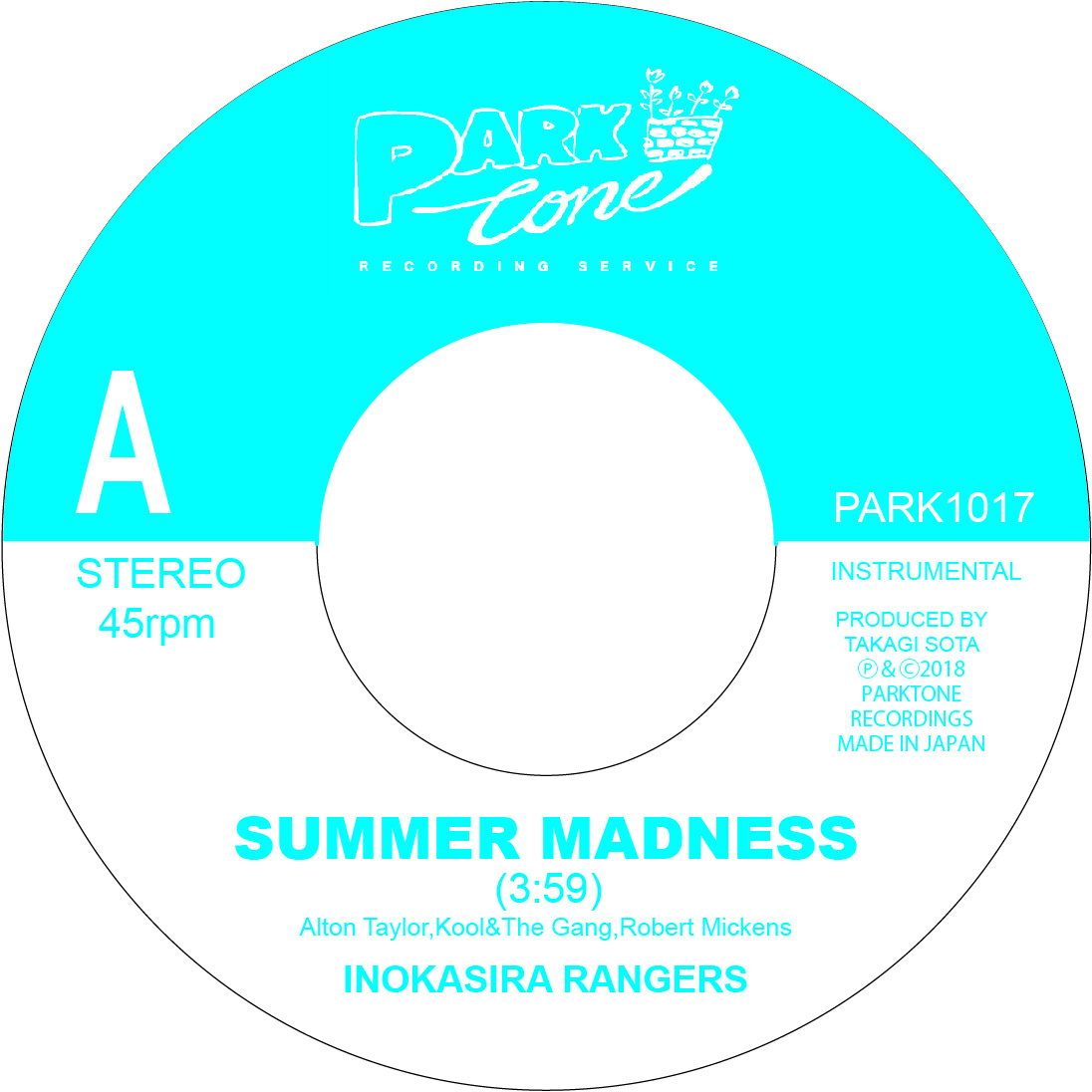 井の頭レンジャーズ / SUMMER MADNESS / A SUMMER PLACE