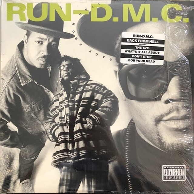 RUN DMC / BACK FROM HELL