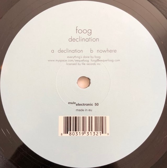 FOOG / DECLINATION