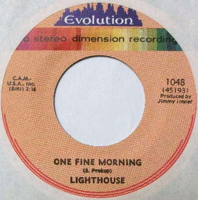 LIGHTHOUSE / ONE FINE MORNING