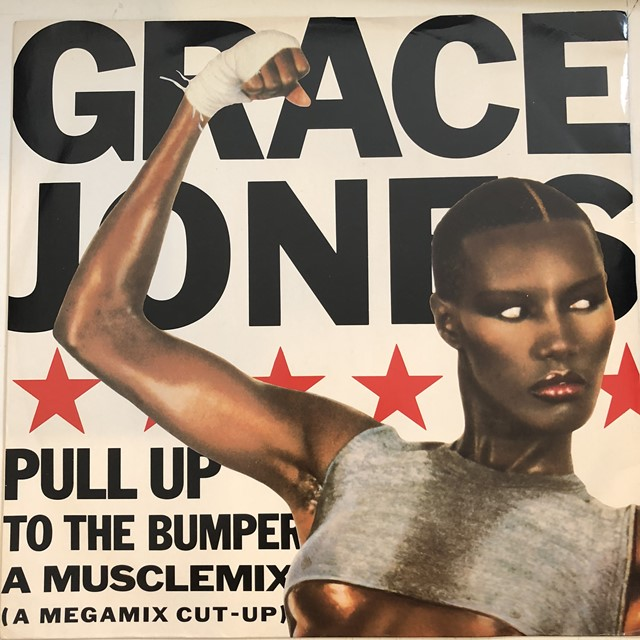 GRACE JONES / PULL UP TO THE BUMPER (A MUSCLEMIX)