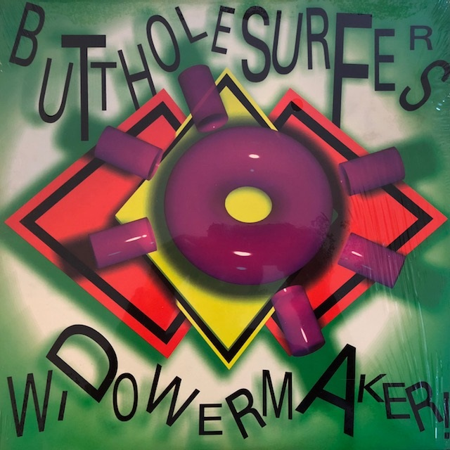 BUTTHOLE SURFERS / WIDOWERMAKER! EP