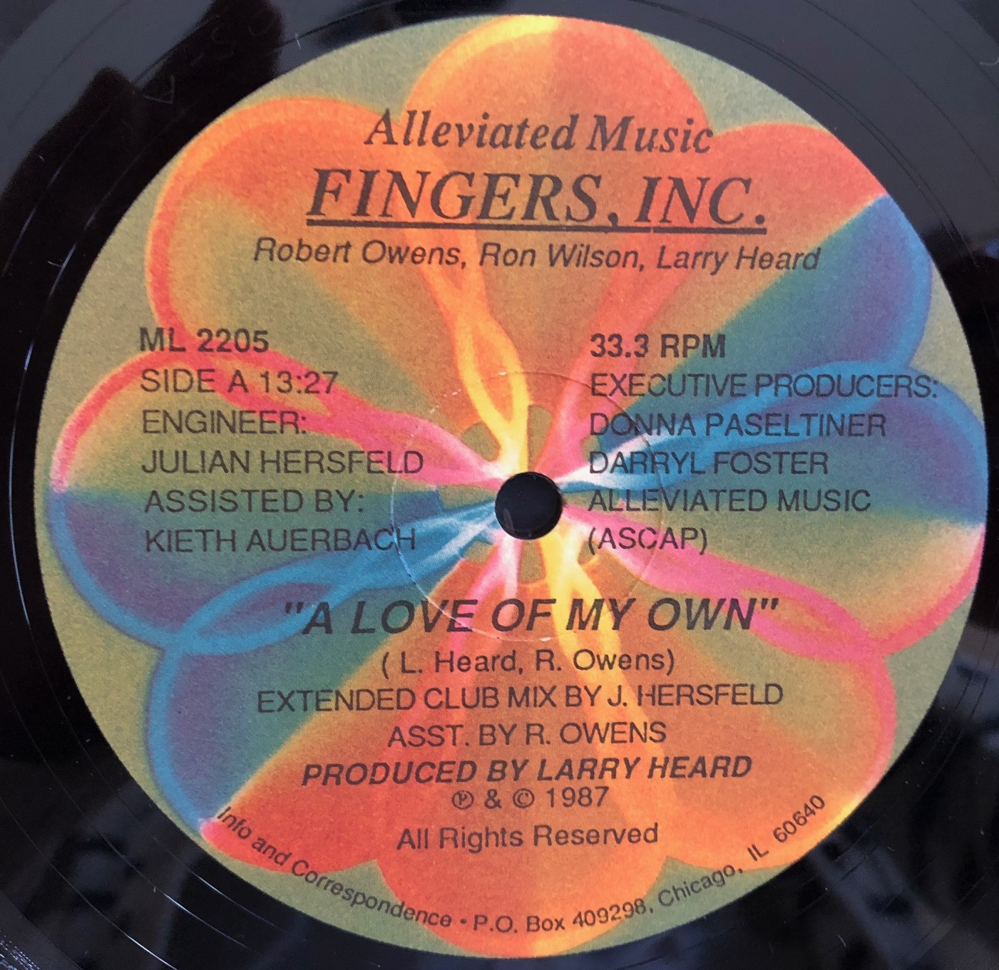 FINGERS, INC. / A LOVE OF MY OWN