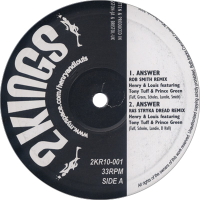 HENRY & LOUIS / ANSWER REMIXES